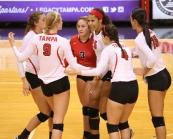 9/18/2015; Tampa, Fla.; University of Tampa volleyball vs. Eckerd.