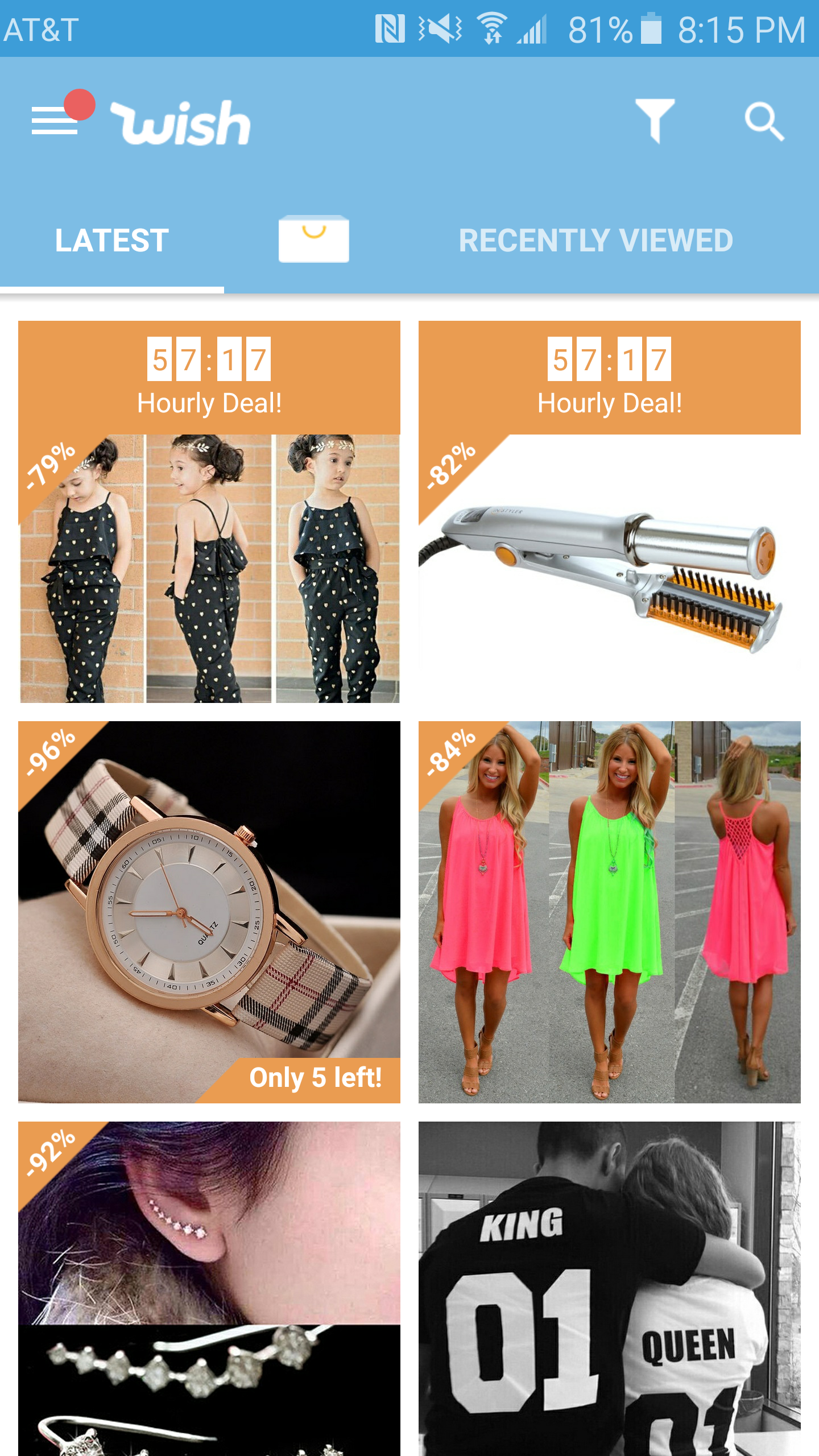 Shopping Wish App Online