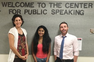 Photo courtesy of Juhi Kore.  The Public Speaking Club is great for anyone who wants to improve their public speaking skills.